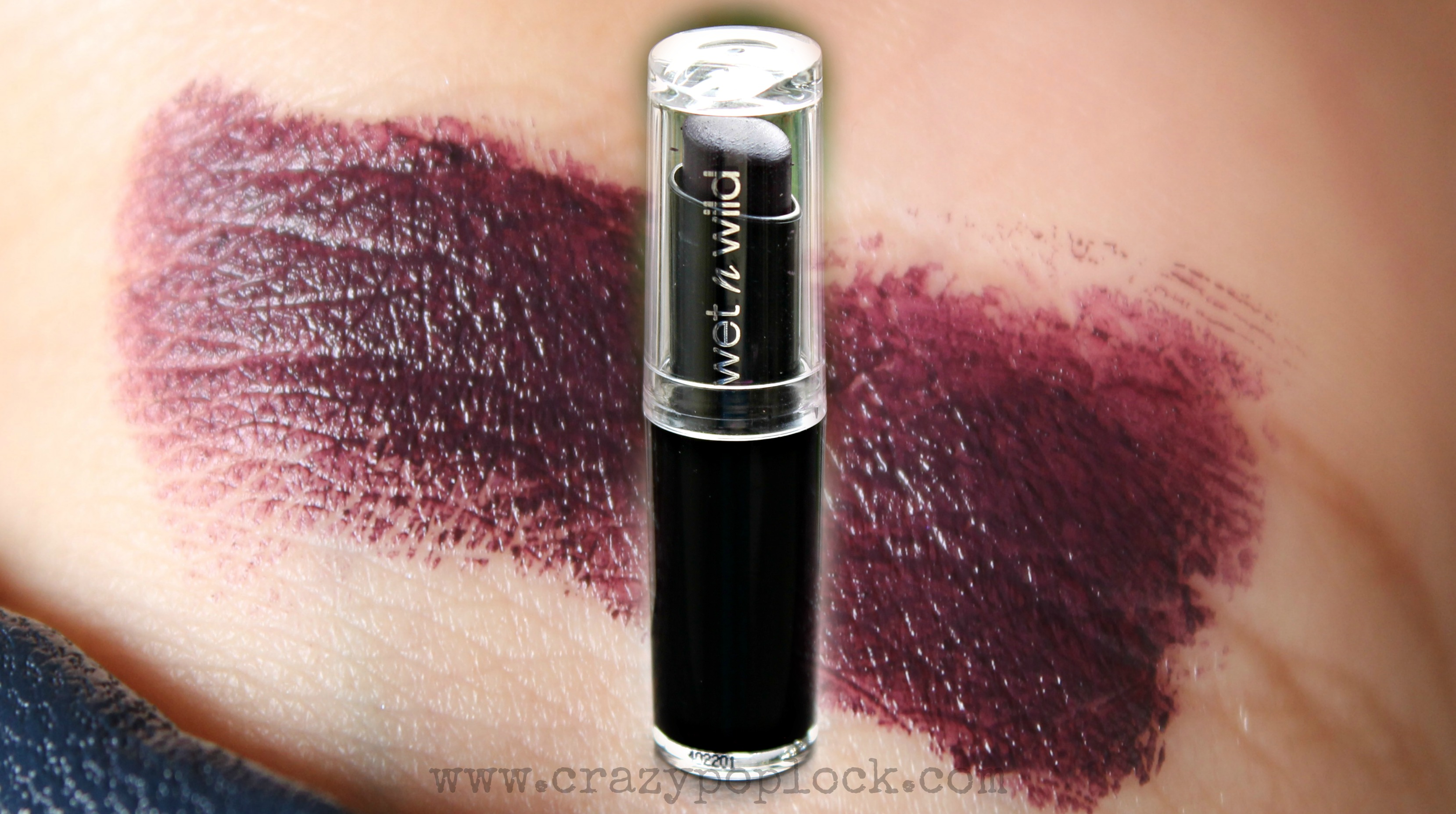 Wet And Wild Vamp It Up Lipstick Review