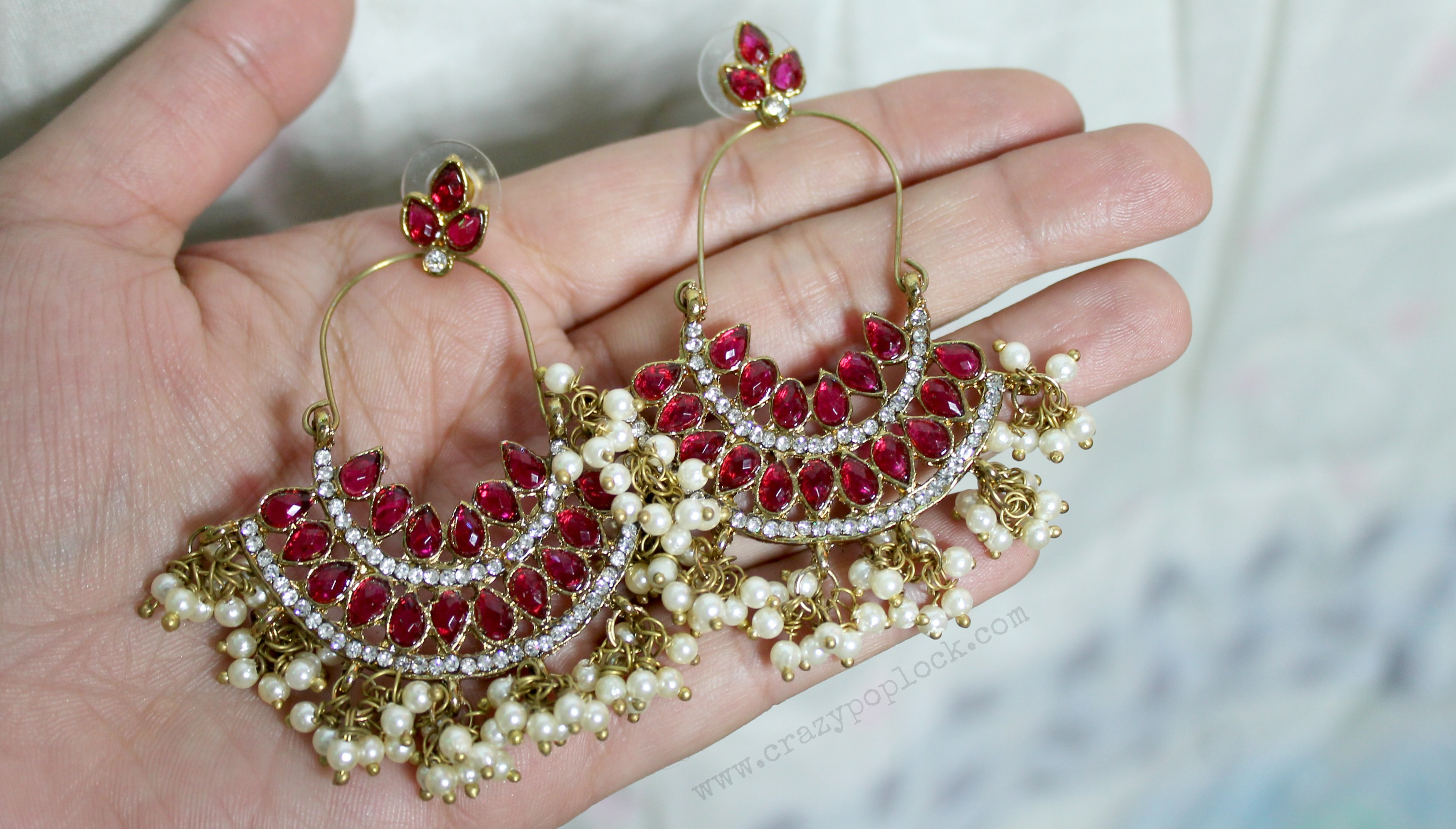 Ethnic Earrings Try On Haul From Amazon In Bharti Puri